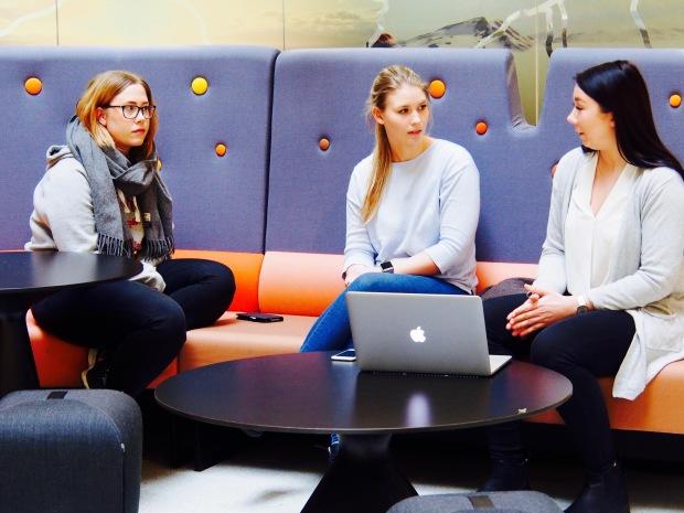 Marthe Myreze, Celine Madsen og Monica Løkken