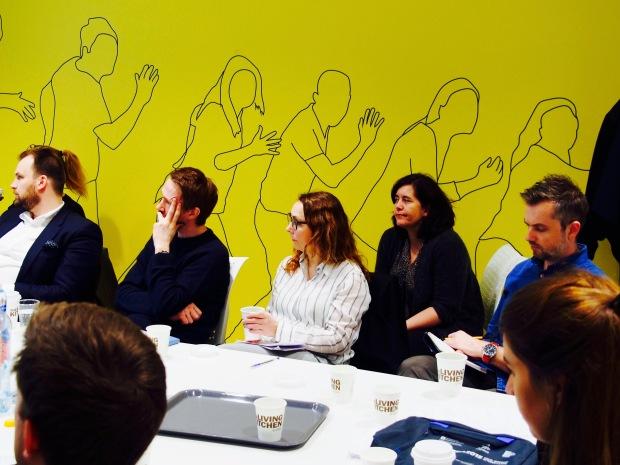 Juryen i dyp konsentrasjon under presentasjonene.